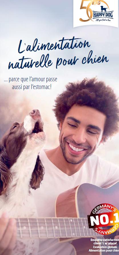 P happy dog